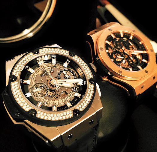 Two Hublot Watches